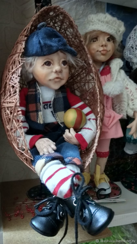 Шарнирная кукла футболист, Шарнирная кукла, Санкт-Петербург,  Фото №1
