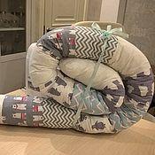 Для дома и интерьера ручной работы. Ярмарка Мастеров - ручная работа Подушка бортик / для беременных. Handmade.