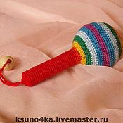 """Куклы и игрушки ручной работы. Ярмарка Мастеров - ручная работа Погремушка """"Маракас"""". Handmade."""