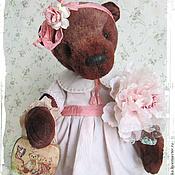 Куклы и игрушки ручной работы. Ярмарка Мастеров - ручная работа Марфа - коллекционный плюшевый медвежонок. Handmade.