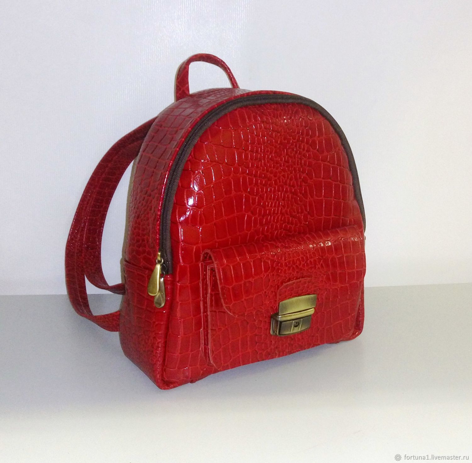 6135a431e9 Backpacks handmade. Livemaster - handmade. Buy Backpack leather 10 to.