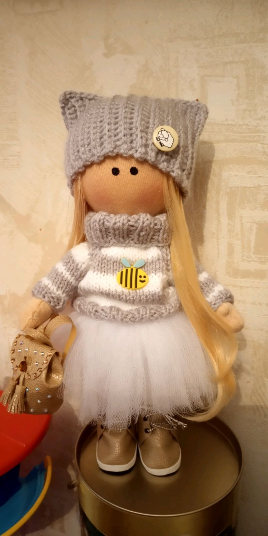 Интерьерная текстильная кукла, Куклы Тильда, Москва,  Фото №1