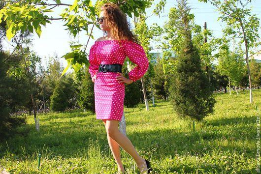 """Платья ручной работы. Ярмарка Мастеров - ручная работа. Купить Платье """"PINK"""". Handmade. Розовый, летняя мода 2015"""