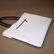 Сумки и аксессуары handmade. Livemaster - original item Bag-folder female. Genuine leather embossed.. Handmade.
