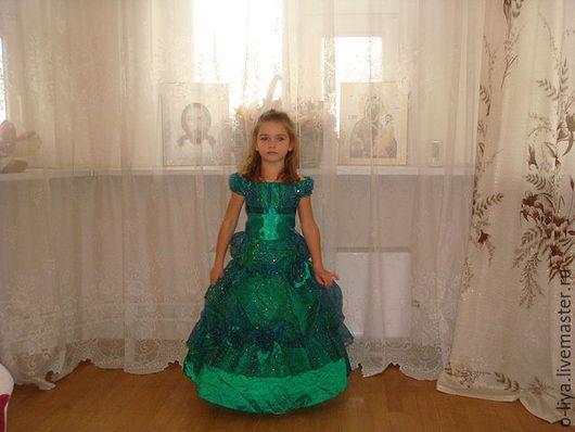 Одежда для девочек, ручной работы. Ярмарка Мастеров - ручная работа. Купить Платье для девочки. Handmade. Зеленый, бальное платье, все для девочек