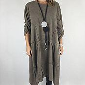 Одежда ручной работы. Ярмарка Мастеров - ручная работа Красивое практичное и удобное платье на каждый день. Handmade.