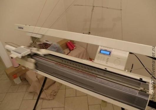 Вязание ручной работы. Ярмарка Мастеров - ручная работа. Купить Автоматическая вязальная машина brother KH-970. Handmade. Автоматическая