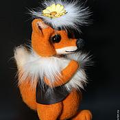 Куклы и игрушки ручной работы. Ярмарка Мастеров - ручная работа Лисичка-модница.. Handmade.