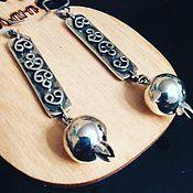 Украшения handmade. Livemaster - original item Mariam.  Earrings of silver 925. Handmade.