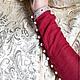 Платья ручной работы. Платье с узким рукавом. Некрасова Екатерина - 'Зов Предков'. Ярмарка Мастеров. Платье с длинным рукавом