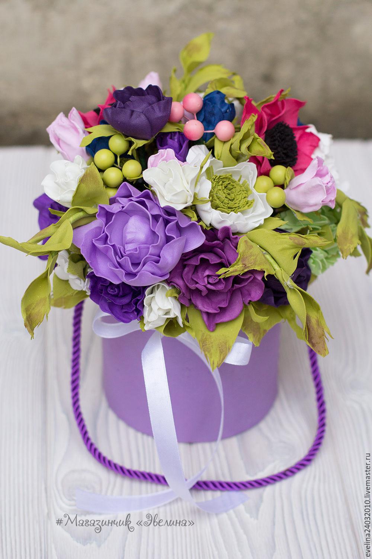 цветы в коробке, Короб, Сочи,  Фото №1