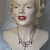 Vintage necklace handmade. Livemaster - original item Choker-1928!. Handmade.