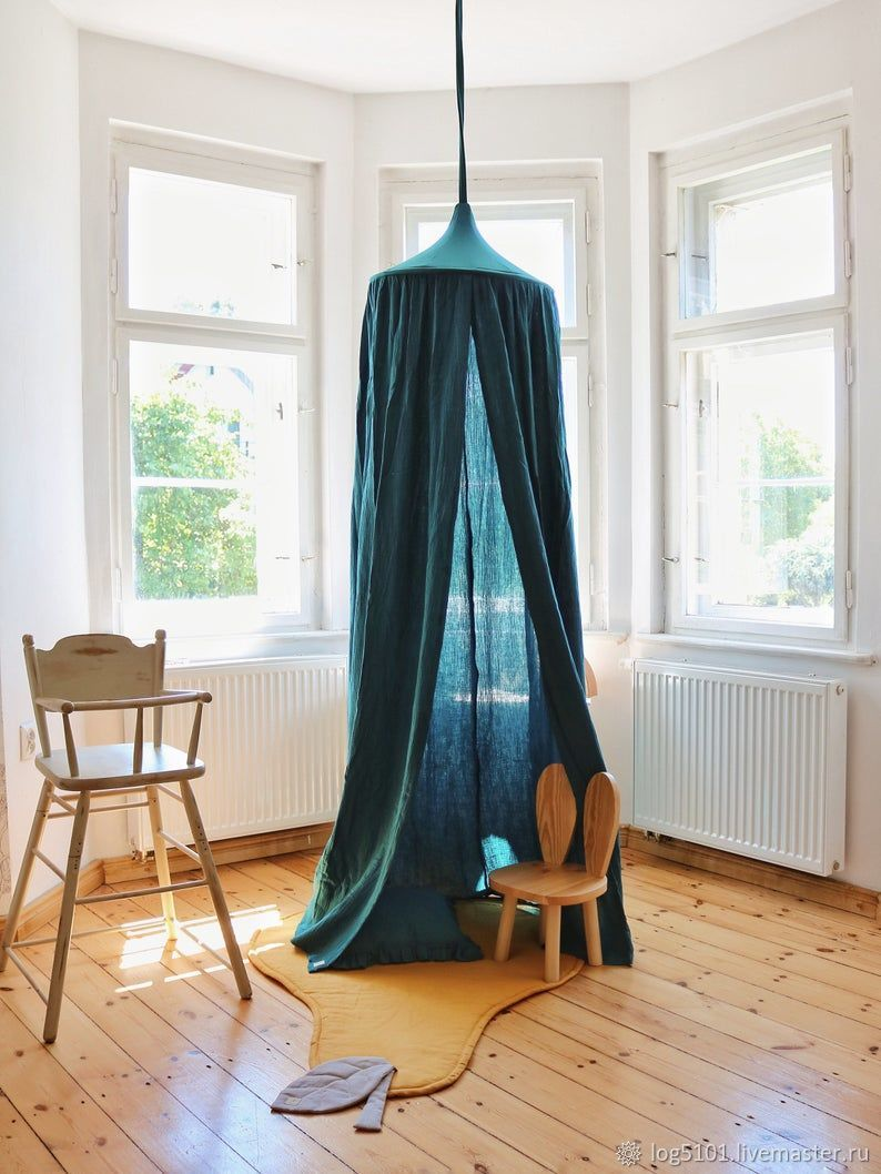 Canopy made of soft muslin-Tent for a child's bed, Canopy for crib, Moscow,  Фото №1