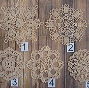Для дома и интерьера ручной работы. Ярмарка Мастеров - ручная работа Винтажные салфетки. Handmade.
