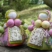 Народная кукла ручной работы. Ярмарка Мастеров - ручная работа Кубышки-Травницы. Handmade.