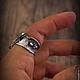 """Кольца ручной работы. """"Hard rock"""" авторское серебряное кольцо. Euphoretic. Ярмарка Мастеров. Крупное кольцо, стильное кольцо"""