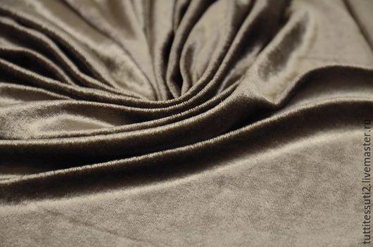 Шитье ручной работы. Ярмарка Мастеров - ручная работа. Купить Велюр 03-300-0048. Handmade. Бежевый, домашняя одежда
