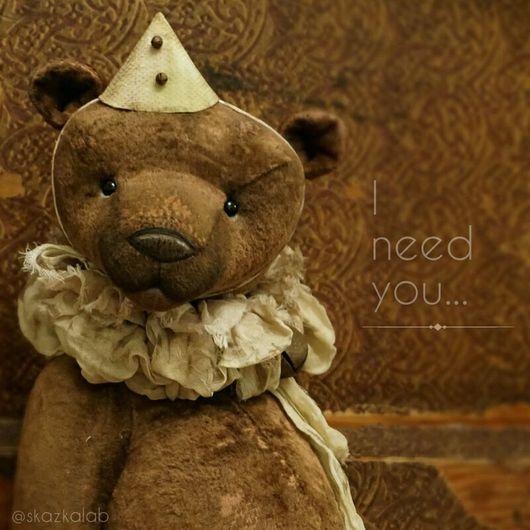 Мишки Тедди ручной работы. Ярмарка Мастеров - ручная работа. Купить Don't leave me.... Handmade. Мишка тедди, медведь