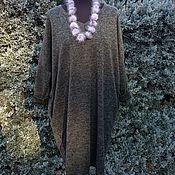 Одежда ручной работы. Ярмарка Мастеров - ручная работа Платье-кокон Хаки. Handmade.