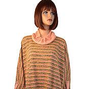 Одежда handmade. Livemaster - original item Warm long tunic dress with a loose fit