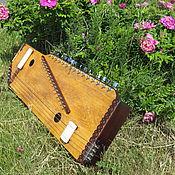 Музыкальные инструменты ручной работы. Ярмарка Мастеров - ручная работа Свармандал и Тампура 2 в 1. Handmade.