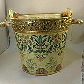 Для дома и интерьера handmade. Livemaster - original item vase/planter/bucket