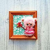 Куклы и игрушки ручной работы. Ярмарка Мастеров - ручная работа Свинка в домике (поросенок). Handmade.