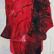 Аксессуары handmade. Livemaster - original item Tippet of wool Flamenco. Handmade.