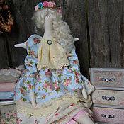 Куклы и игрушки ручной работы. Ярмарка Мастеров - ручная работа Айрин-текстильная,интерьерная кукла-тильда. Фея утренней зари. Handmade.