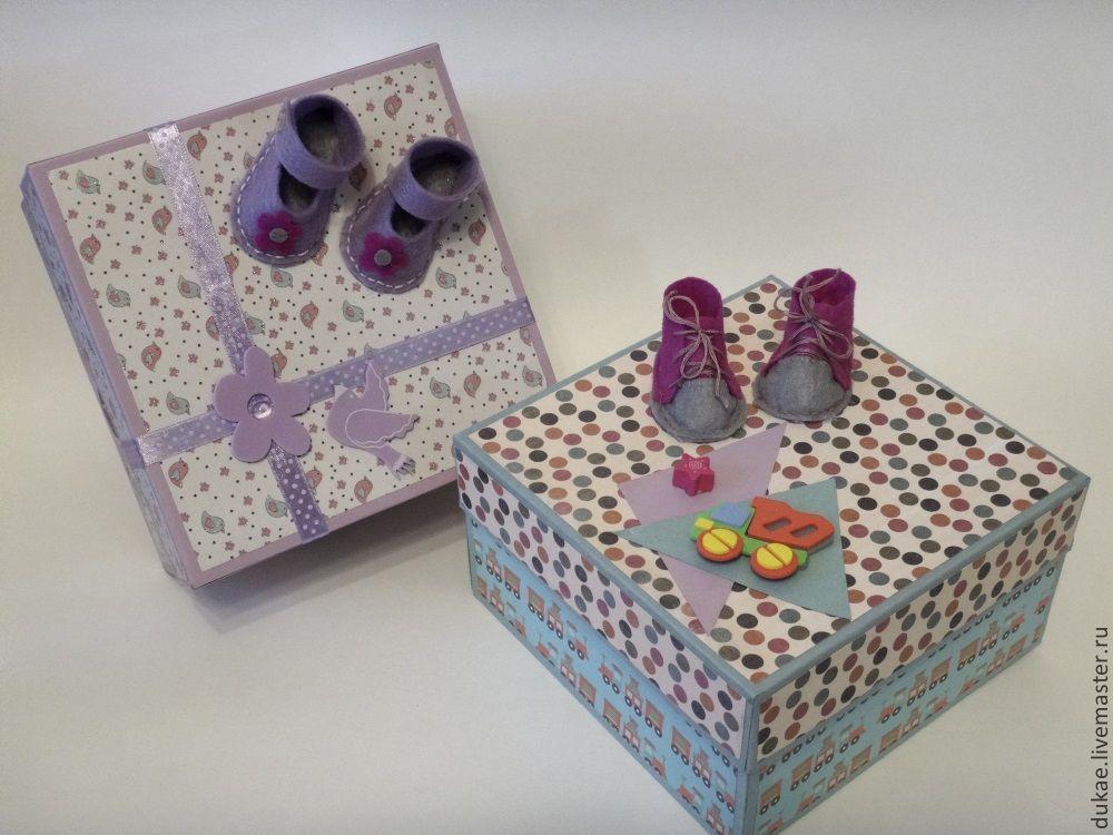 Детская коробочка с подарок