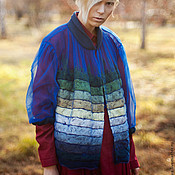 "Одежда handmade. Livemaster - original item Elegant blouse ""When the berries fall on the snow."". Handmade."