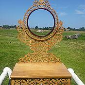 Для дома и интерьера ручной работы. Ярмарка Мастеров - ручная работа Зеркало настольное круглое. Handmade.