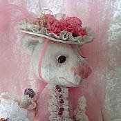 Куклы и игрушки ручной работы. Ярмарка Мастеров - ручная работа Медвежонок  Фуксия. Handmade.