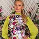Блузки ручной работы. Блузка Виолетта-2. Marussia / Маруся. Интернет-магазин Ярмарка Мастеров. Цветочный, блузка нарядная