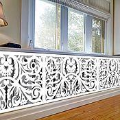 handmade. Livemaster - original item Wooden carved panel for radiator. Handmade.