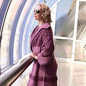 """Одежда ручной работы. Ярмарка Мастеров - ручная работа Кардиган """"Фиолетовый вечер"""". Handmade."""
