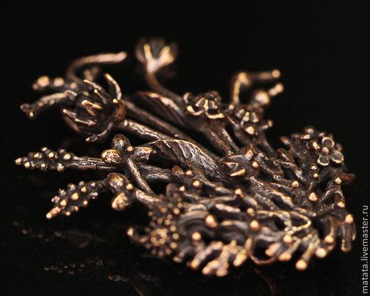 Для украшений ручной работы. Ярмарка Мастеров - ручная работа. Купить Мхи и травы 28101-750 (1). Handmade. Бронза