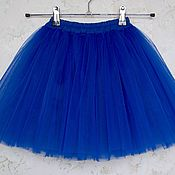 Детская юбка пачка из фатина на 4-7 лет