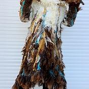 """Одежда ручной работы. Ярмарка Мастеров - ручная работа Пальто валяное """"Долина ветров"""". Handmade."""