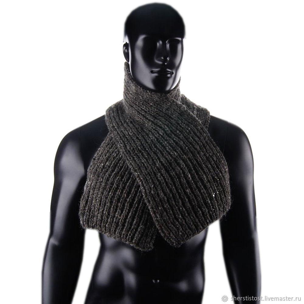 Шерстяной шарф. Магазин `Шерстистость-пушистость`