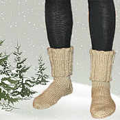 Аксессуары handmade. Livemaster - original item Socks knitted mens long. Socks hand knitted. ( IDS). Handmade.