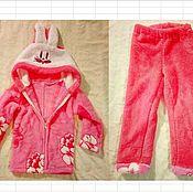 Одежда ручной работы. Ярмарка Мастеров - ручная работа Домашняя пижама для девочки. Handmade.
