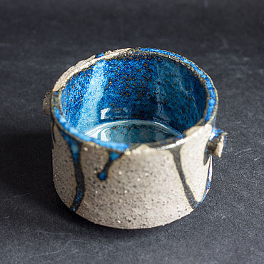 Посуда ручной работы. Ярмарка Мастеров - ручная работа Пиала керамическая Камень и вода. Handmade.