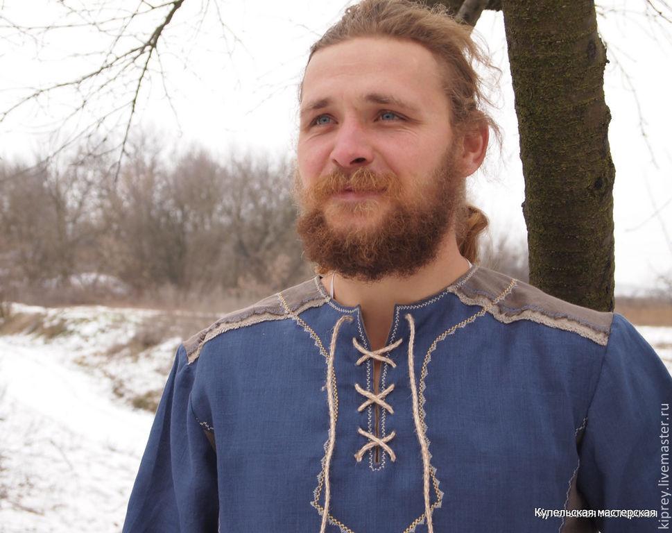 Славянская прическа мужская