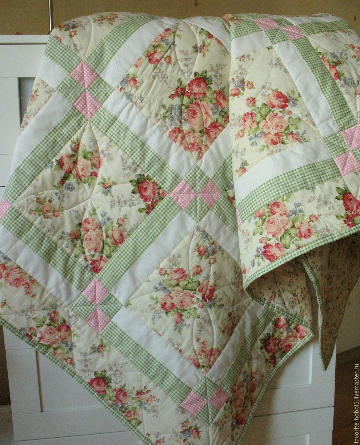 Bedspread shabby chic, Bedspreads, Moscow,  Фото №1