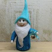Куклы и игрушки ручной работы. Ярмарка Мастеров - ручная работа гном  с колокольчиком. Handmade.