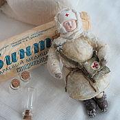 Сувениры и подарки handmade. Livemaster - original item Cotton toy dedicated to the Victory Day