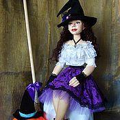 Куклы и игрушки ручной работы. Ярмарка Мастеров - ручная работа Сабрина (молодая ведьмочка). Handmade.
