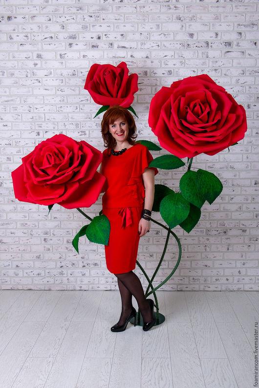 Ростовая роза своими руками 641