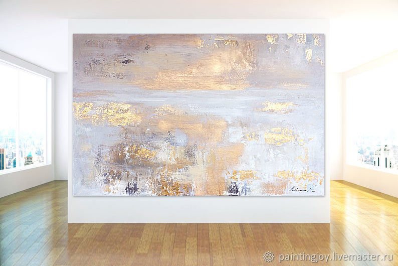 Oil painting 'Sunrise' 75/100cm, Pictures, Stavropol,  Фото №1